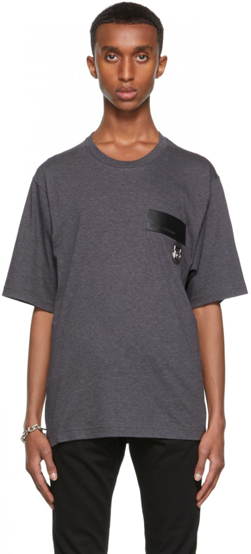 Dolce & Gabbana Grey DNA Patch T-Shirt