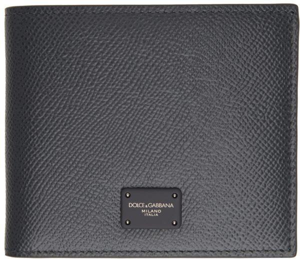 Dolce & Gabbana Grey Dauphine Wallet
