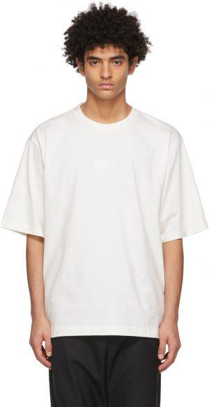 Dolce & Gabbana Off-White Logo Injection T-Shirt