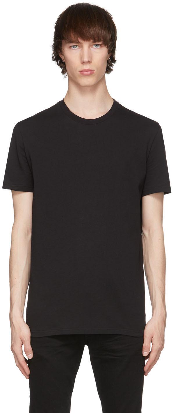 Dsquared2 Black Round Neck T-Shirt