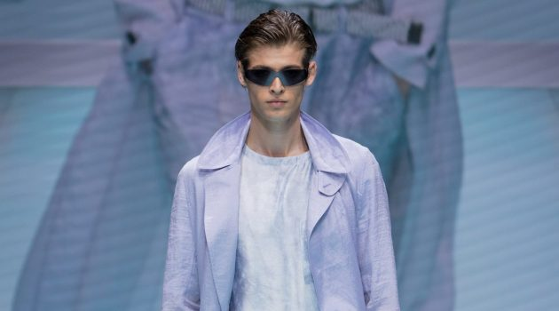 Emporio Armani Delivers Light & Colorful Style for Spring '22 Collection