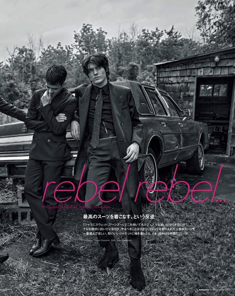 Rebel Rebel: Sam, Keisuke & Rocky for Esquire Japan