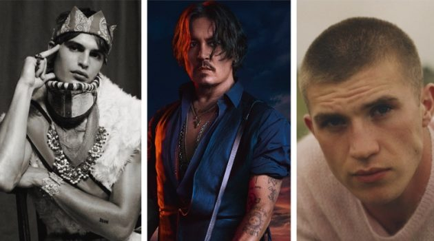 Week in Review: Parker Van Noord for VMAN, Johnny Depp for Dior Sauvage Elixir campaign, Oisin Murphy for GQ Russia