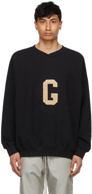 Fear of God Black 'G' Sweatshirt