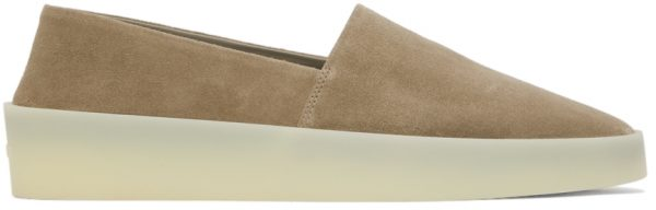 Fear of God Taupe Suede Espadrilles