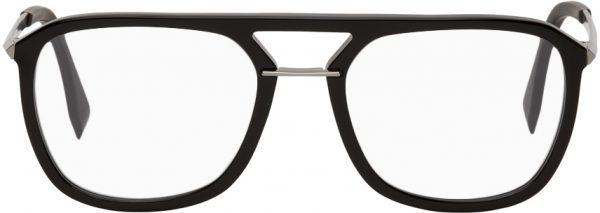 Fendi Black Acetate Glasses