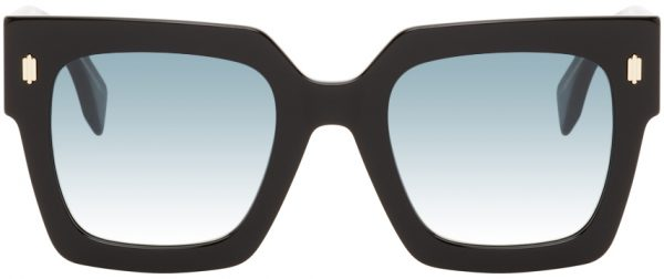 Fendi Black 'Forever Fendi' Sunglasses
