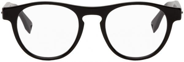 Fendi Black Round Thick Glasses