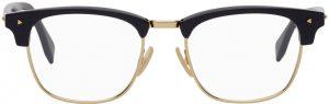 Fendi Blue & Gold Square Glasses