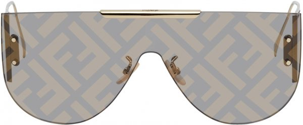 Fendi Gold 'Fendi Fabulous' Sunglasses