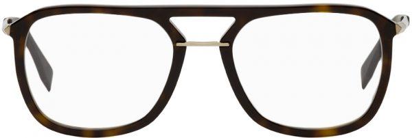 Fendi Tortoiseshell Acetate Glasses