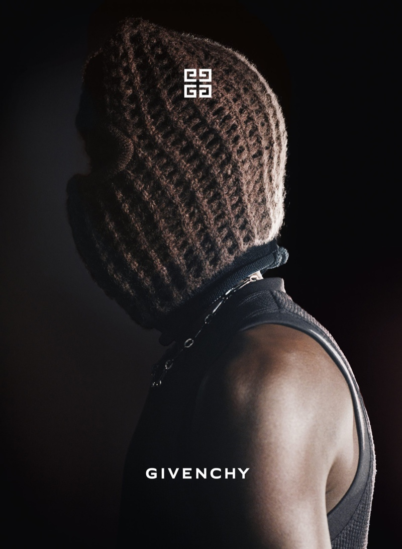 Thibaut Grevet photographs Givenchy's fall-winter 2021 campaign.