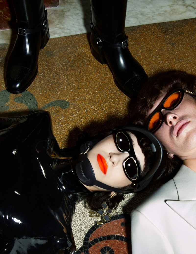 Mert & Marcus Snap Glam New Gucci Aria Campaign