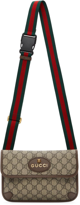 Gucci Beige Neo Vintage GG Supreme Belt Bag
