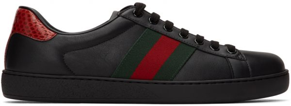 Gucci Black Ace Sneakers