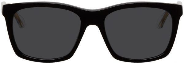 Gucci Black Anima Decor Wayfarer Sunglasses