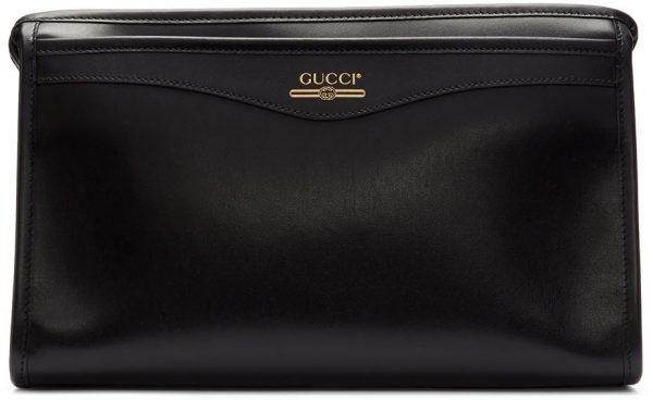 Gucci Black Cosmetics Pouch