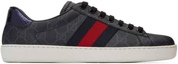 Gucci Black GG Ace Sneakers