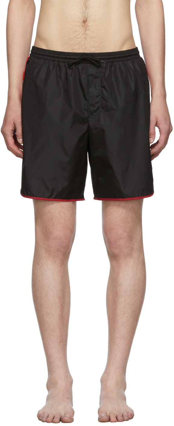 Gucci Black GG Swim Shorts