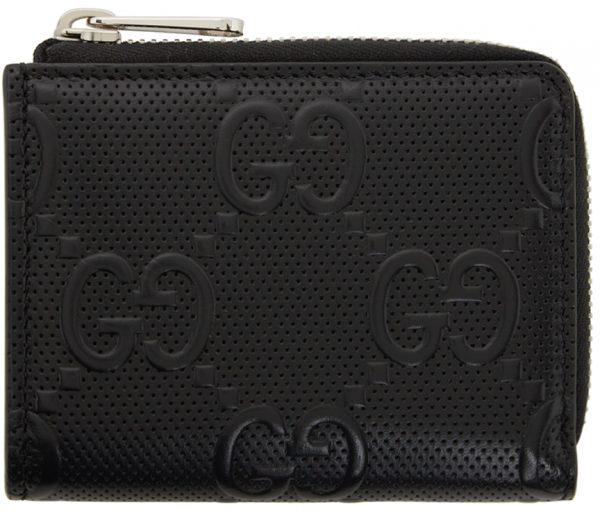 Gucci Black 'GG' Wallet