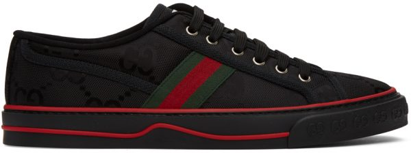 Gucci Black 'Gucci Tennis 1977' Off The Grid Sneakers