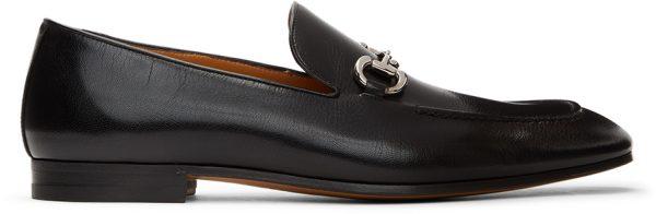 Gucci Black Horsebit Loafers