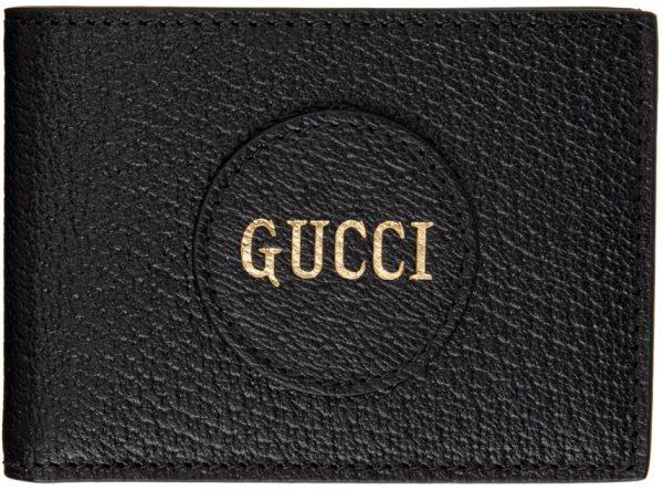 Gucci Black Logo Wallet