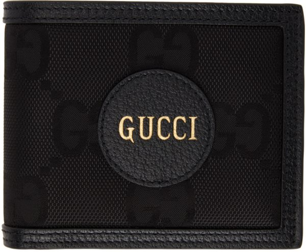 Gucci Black Off The Grid GG Eco Card Wallet