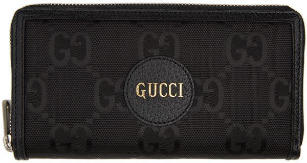 Gucci Black Off The Grid GG Zip-Around Wallet