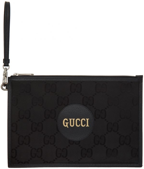 Gucci Black Off The Grid Long GG Eco Pouch
