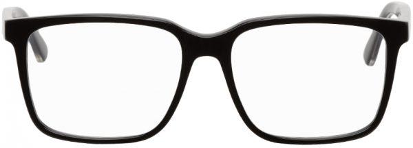 Gucci Black Rectangle Glasses
