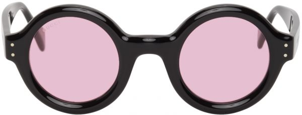Gucci Black & Pink GG0871S Sunglasses