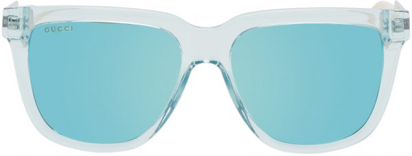 Gucci Blue Acetate Reflective Sunglasses