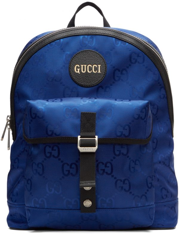 Gucci Blue Off The Grid Backpack