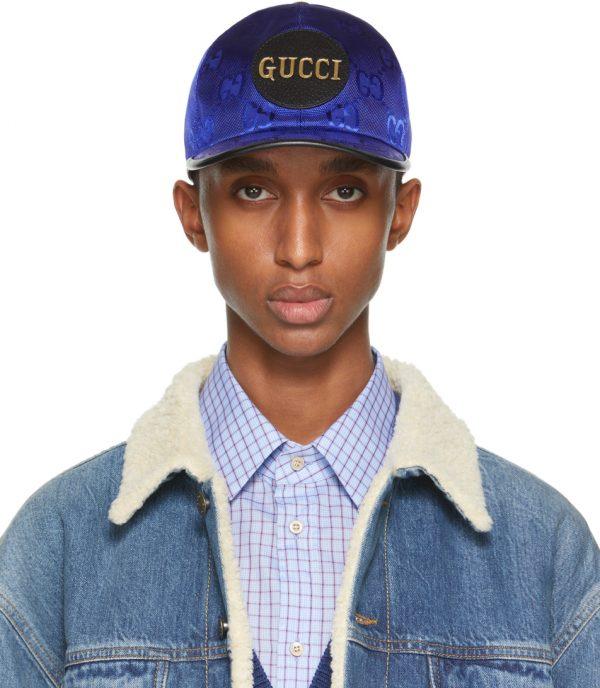 Gucci Blue Off The Grid Baseball Cap