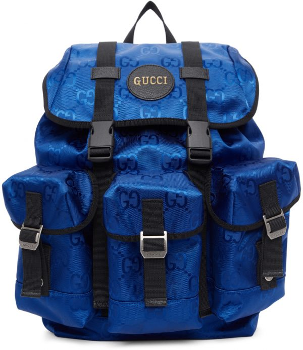 Gucci Blue Off The Grid GG Eco Backpack