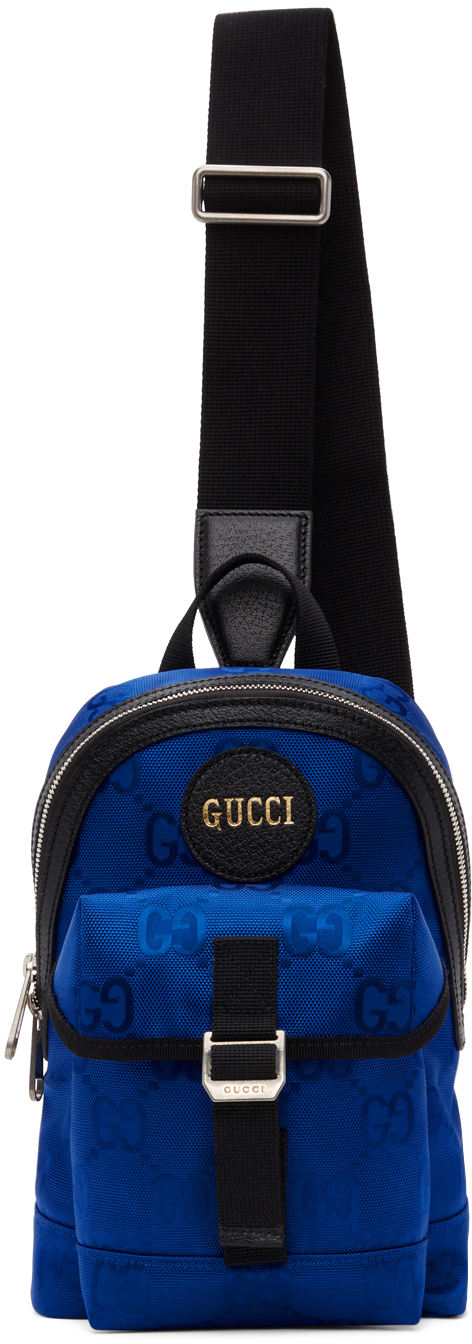 Gucci Blue Off The Grid GG Sling Bag