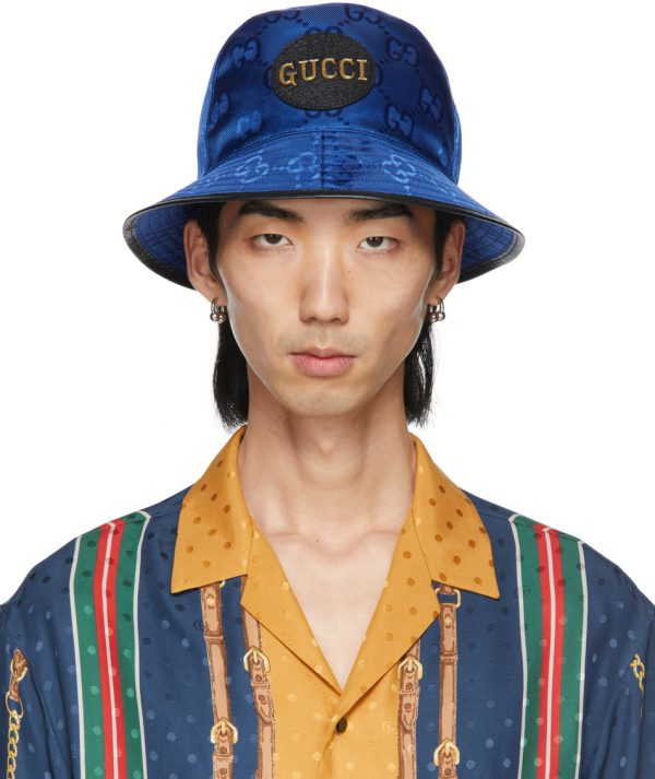 Gucci Blue Off The Grid Hat