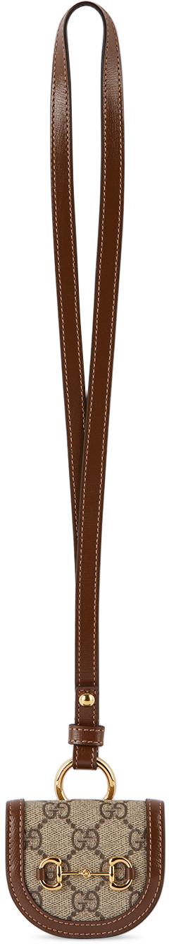 Gucci Brown 'Gucci Horsebit 1955' AirPods Case