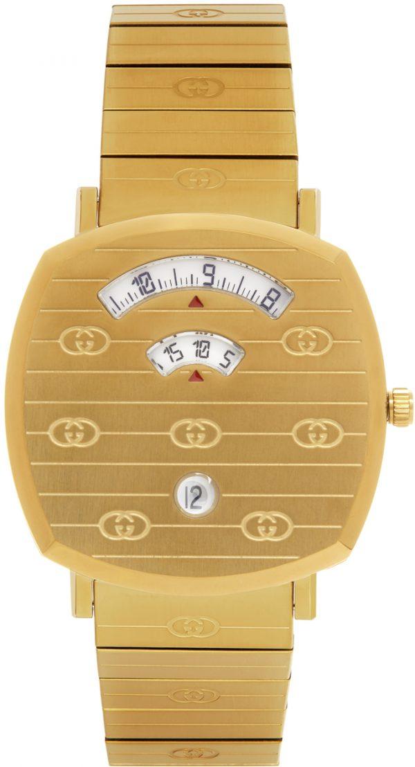 Gucci Gold 38 mm Grip Watch