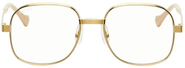 Gucci Gold GG0788S Sunglasses