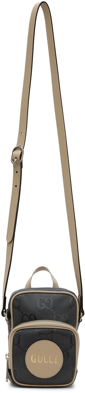 Gucci Grey Mini Off The Grid Messenger Bag