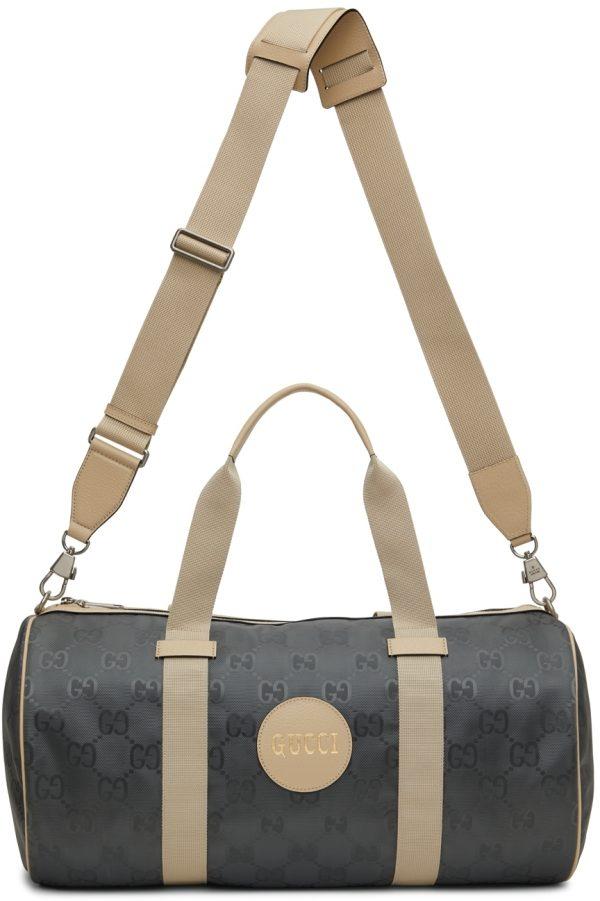 Gucci Grey Off The Grid Duffle Bag