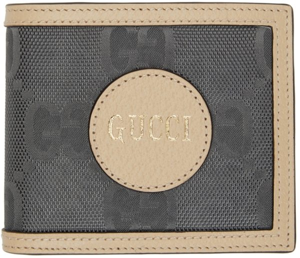 Gucci Grey Off The Grid GG Bifold Wallet