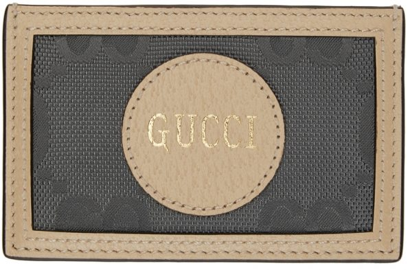Gucci Grey Off The Grid GG Card Holder