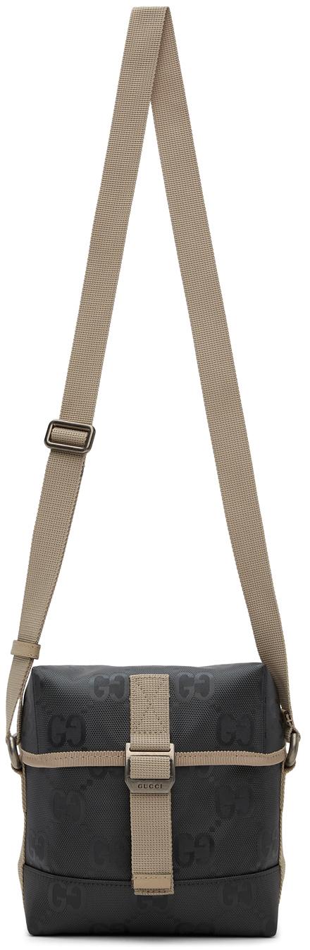 Gucci Grey Off The Grid GG Messenger Bag