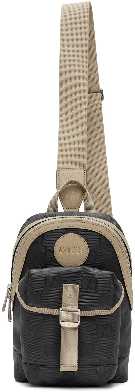 Gucci Grey Off The Grid GG Sling Bag