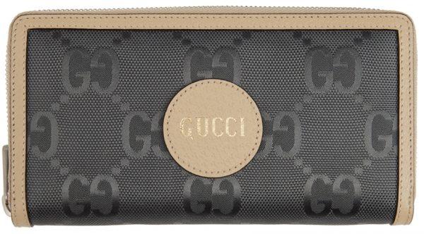 Gucci Grey Off The Grid GG Zip-Around Wallet