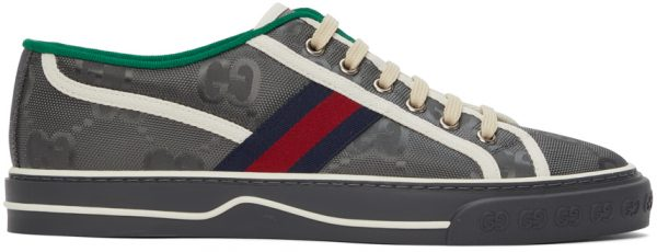 Gucci Grey Off The Grid 'Gucci Tennis 1977' Sneakers