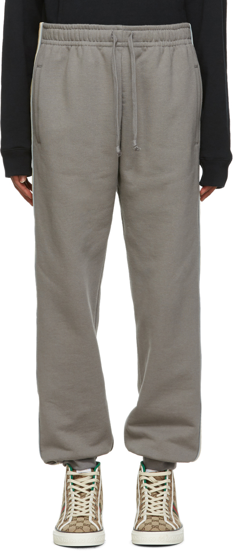 Gucci Grey Reflective GG Lounge Pants